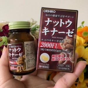 Thuốc-chống-đột-quỵ-Natto-Kinase-2000FU-nhật-bản