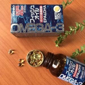 Viên Uống nổ sung Dầu cá Omega 3 EPA & DHA Orihiro Nhật Bản 7