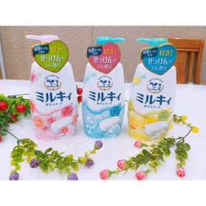 Sữa tắm Cow Brand Milky Body Soap 550 ml