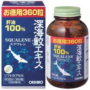 Sụn vi cá mập Squalene Orihiro bổ xương khớp 360 viên