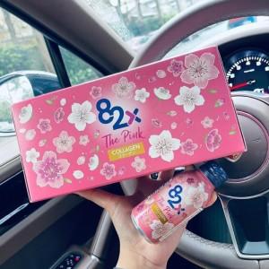 Collagen 82X The Pink Collagen nhật bản, lốc 10 chai
