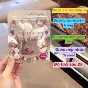Viên Uống bổ sung Collagen Tươi Nhật Bản Gói 30 viên