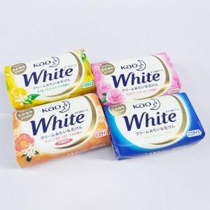 Xà phòng Tắm Kao White 130g số 1 Nhật Bản